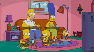 The Simpsons 30x12 : The Girl on the Bus- Seriesaddict